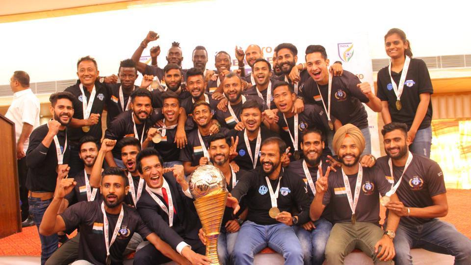 I League Samuel Lalmuanpuia NEROCA FC Win Big On Awards Night