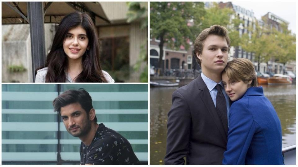 Sanjana Sanghi and Sushant Singh Rajput will play Shailene Woodley and Ansel Elgort's characters in the film.