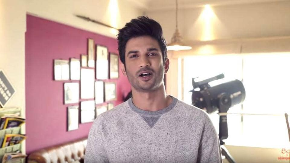 Sushant Singh Rajput takes us to his home in a new video tour.