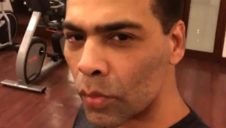 Karan Johar is just like us. He too hates going to the gym.