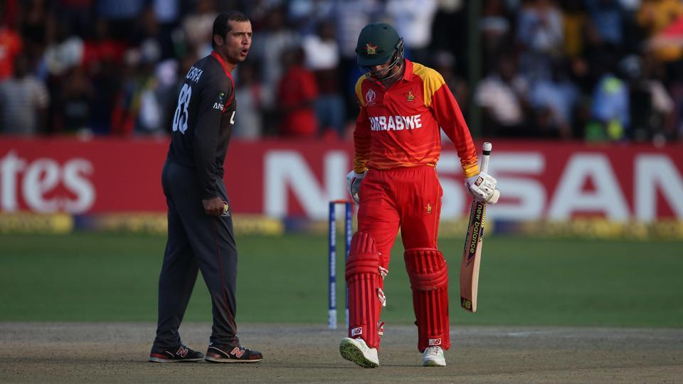 UAE defeated Zimbabwe in their ICC World Cup qualifier in Harare on Thursday.