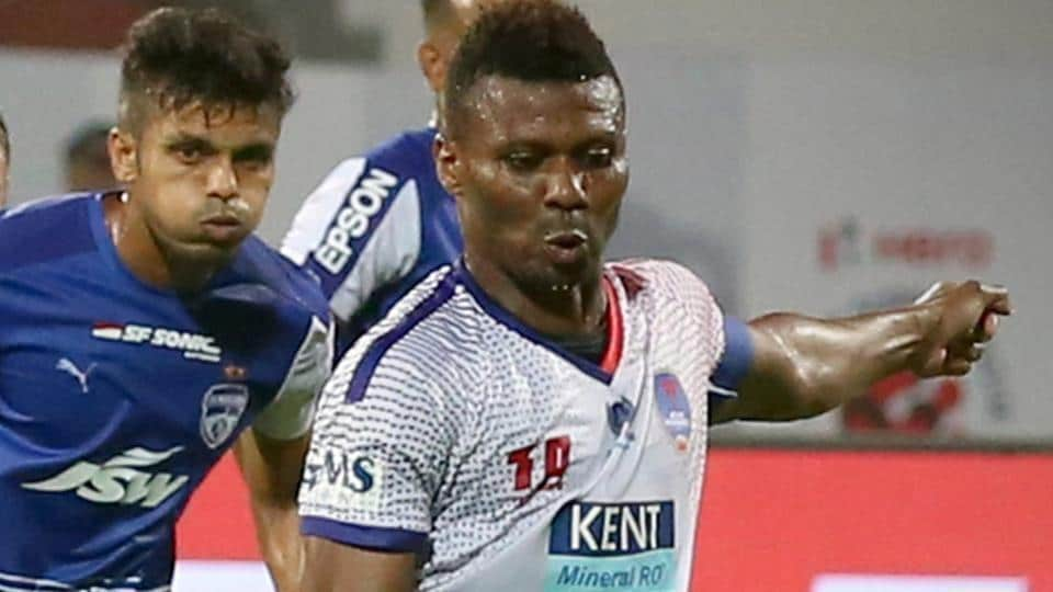 Kalu Uche, who represented Delhi Dynamos this season, signed for ATK in the Indian Super League (ISL).