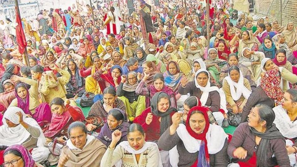 Workers demanded a hike in their honorarium and struck work last year.