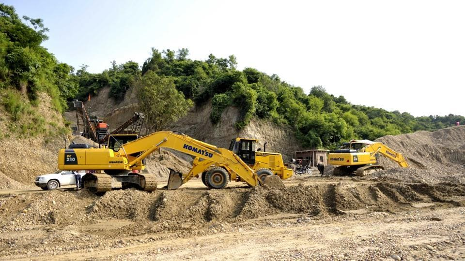 illegal mining,illegal mining in Punjab,Mohali police