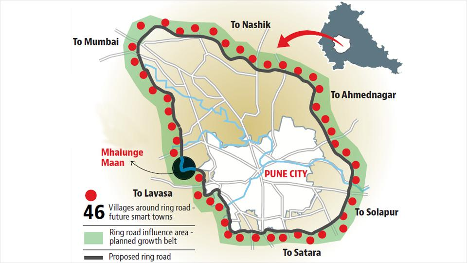 The schemes have been proposed to make the 128-km long ring road project self-sustainable with planned development alongside, said PMRDA officials. The new schemes will be built 500 metres from the proposed ring road.