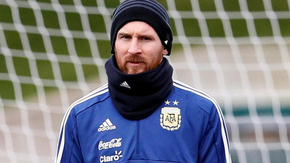 fefae9743 Lionel Messi begins road to Russia as Argentina chase FIFA World Cup ...