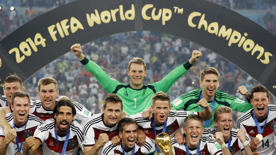 Germany Football Teambrazil Football Teamthomas Mueller