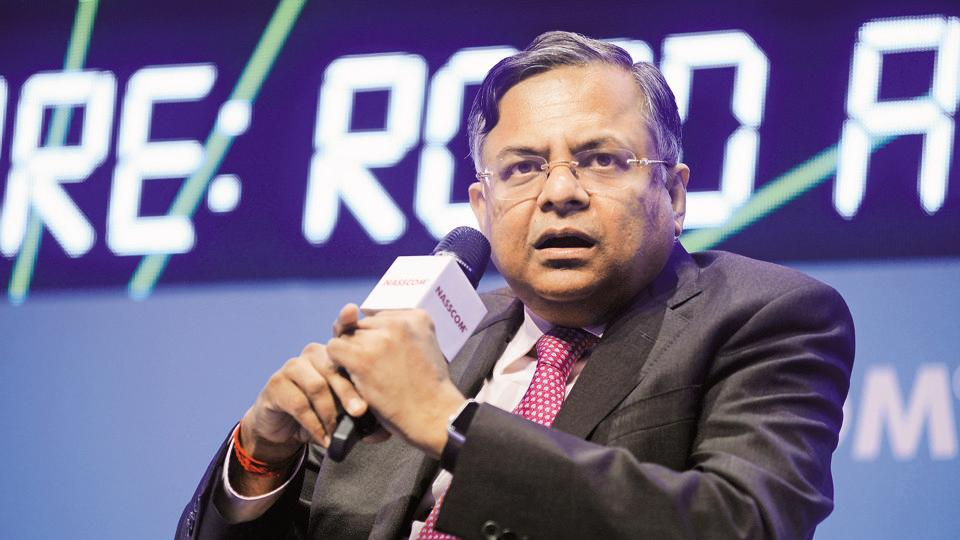 Natarajan Chandrasekaran,Hindustan Times Leadership Summit Singapore