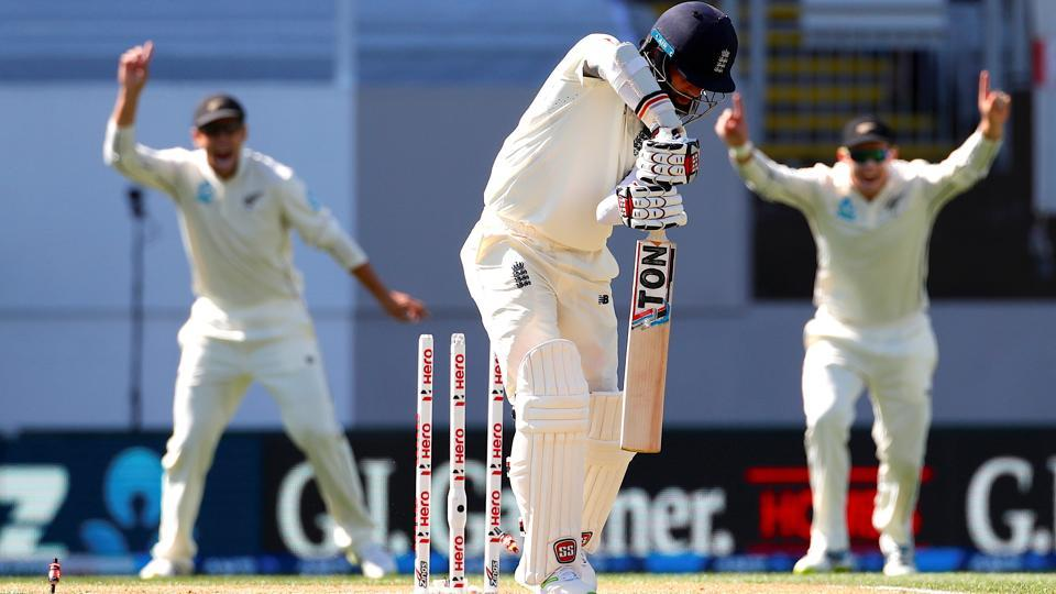 England were bowled out for just 58 against New Zealand on Day 1 of their first Test match in Eden Park on Thursday.