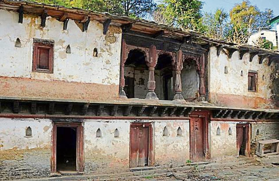 An empty house in a 'ghost' village in Pauri. More than 200 empty schools are in Almora and Pauri, the two hill districts that have recorded maximum forced migration.