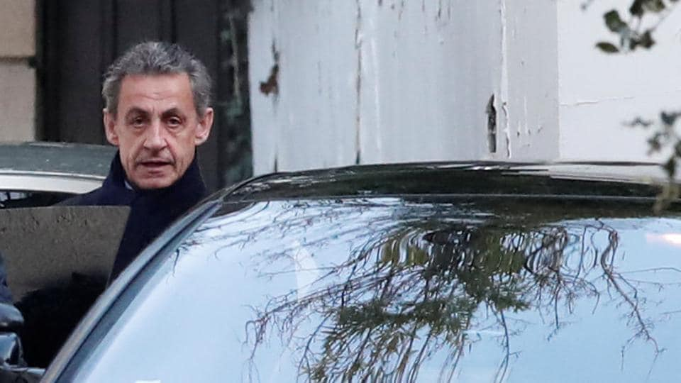 Former French president,Nicolas Sarkozy,Illegal campaign funding