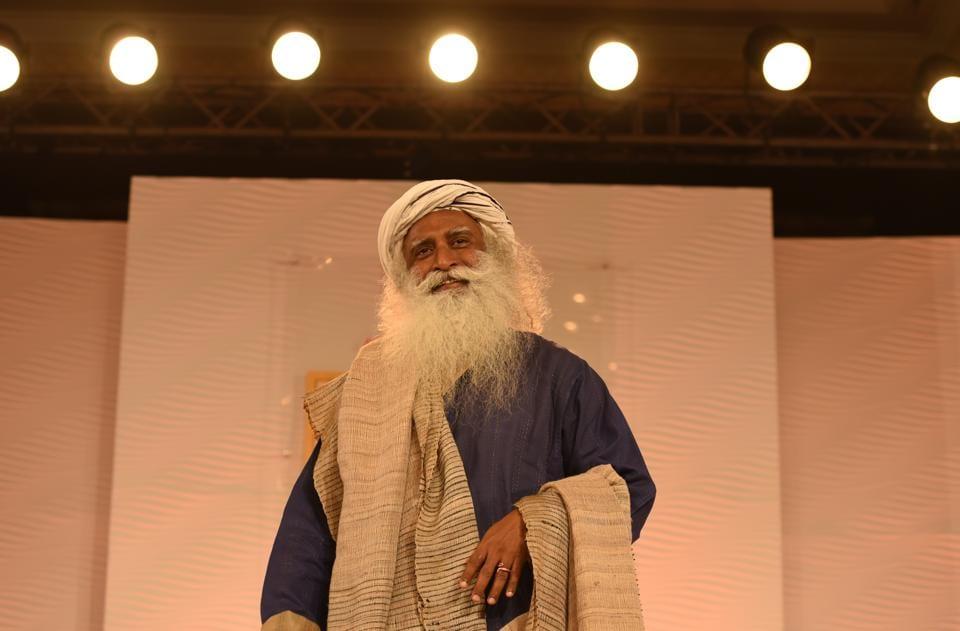 Sadhguru, founder of the Isha Foundation.