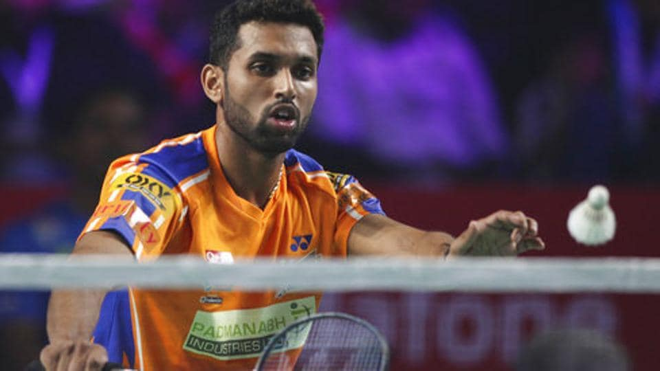 HS Prannoy has recently recovered from foot warts.