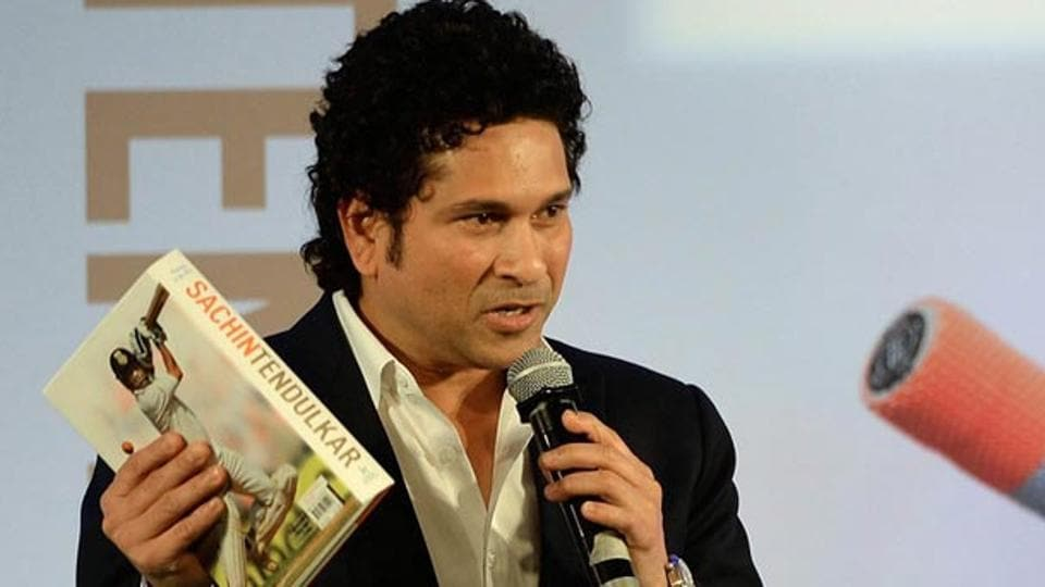Former Indian cricket captain Sachin Tendulkar.