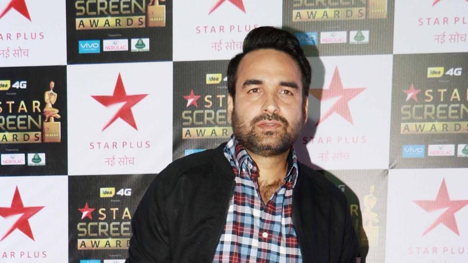 Actor Pankaj Tripathi was last seen in Fukrey Returns (2017).