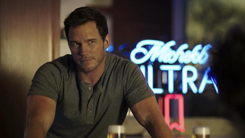 This image released by Anheuser-Busch shows actor Chris Pratt in a scene from a Michelob Ultra commercial.