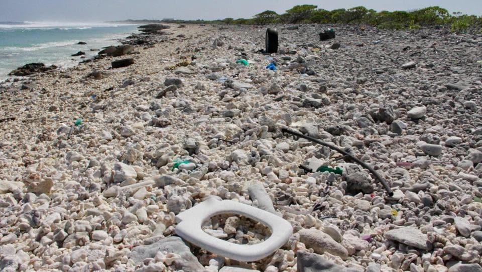 Pacific Ocean,Plastic waste,Plastic waste in Pacific