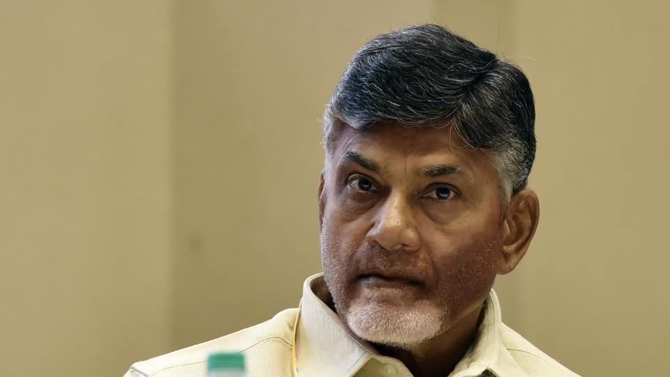"""Andhra Pradesh chief minister Chandrababu Naidu alleged that Vijay Sai Reddy was an economic offender, and the """"accused no 2"""" in CBI cases filed against YSR Congress president YS Jaganmohan Reddy."""