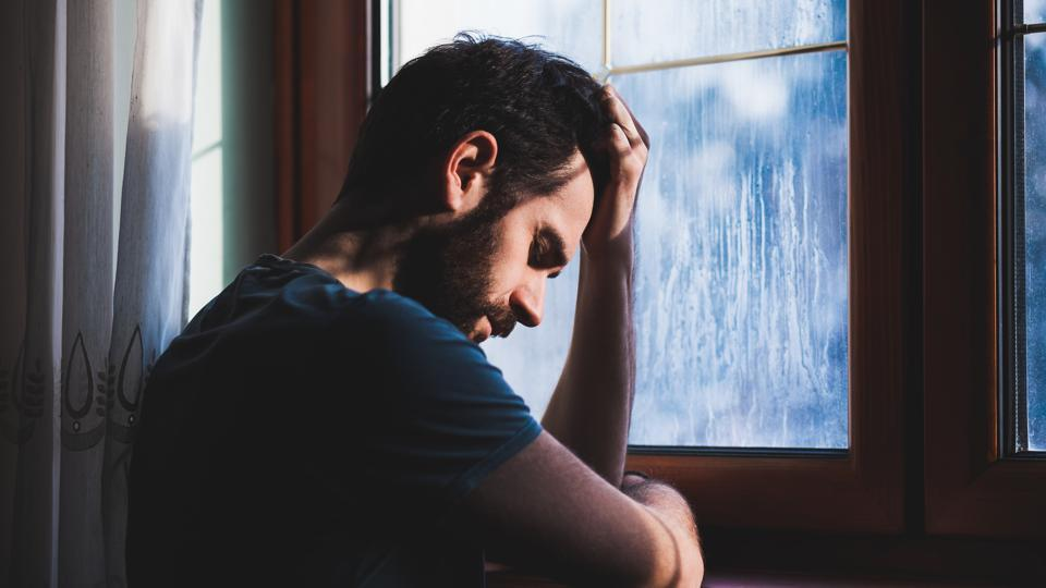Men who show their emotional side are considered a bit weak. You see it in the movies all the time. The reference to men in a weaker position as ladies, the scorn for a man who cries