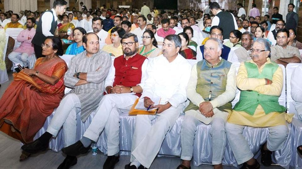 After Wednesday's dinner, the BJP got its MLAs as well as its allies together again at the CM's residence over high tea.