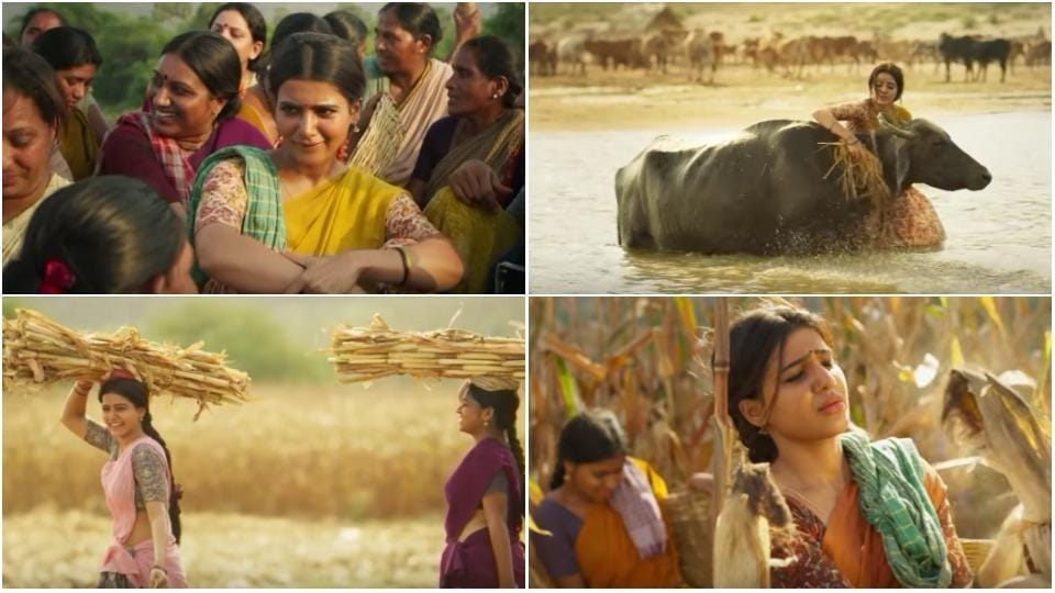 Rangasthalam song Entha Sakkagunave teaser: Ram Charan and Samantha Ruth Prabhu starrer is set to be released on March 30.