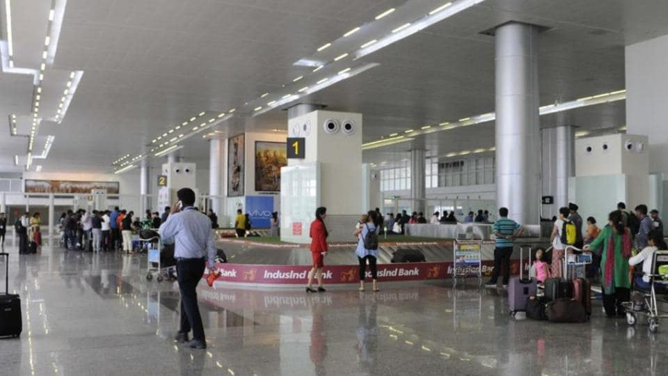 Chandigarh international airport,Chandigarh airport,Air India
