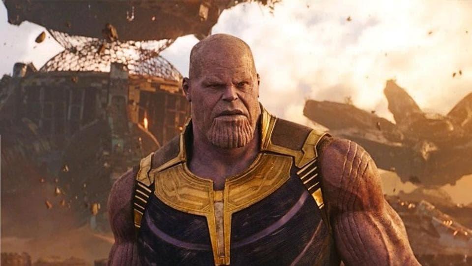 Josh Brolin as Thanos in a new still from Avengers: Infinity War.