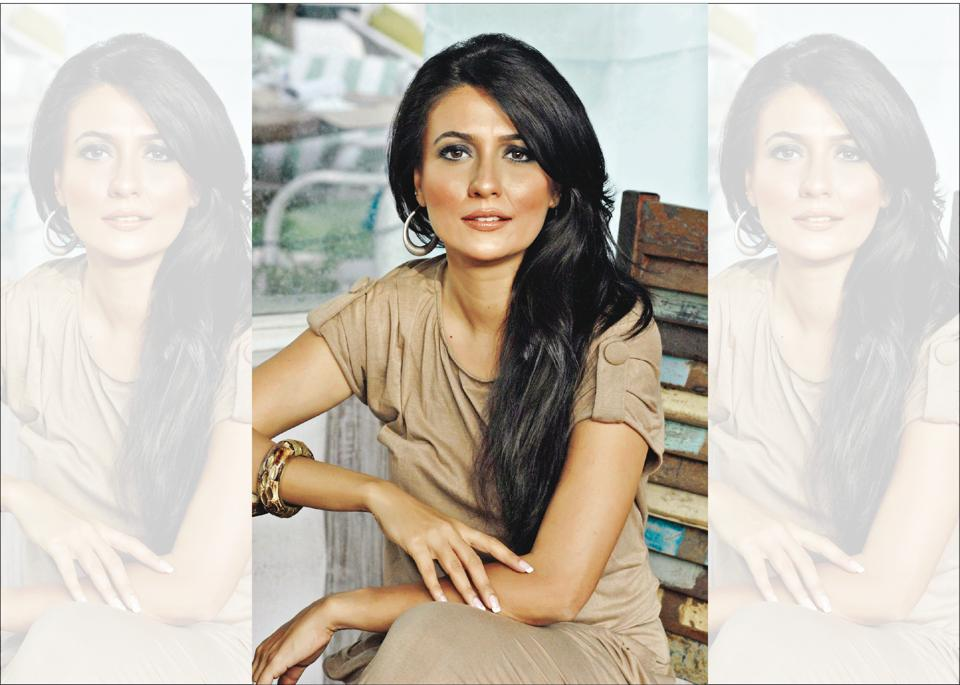 Mini Mathur says that the best way to describe her is as a closet stand-up comic