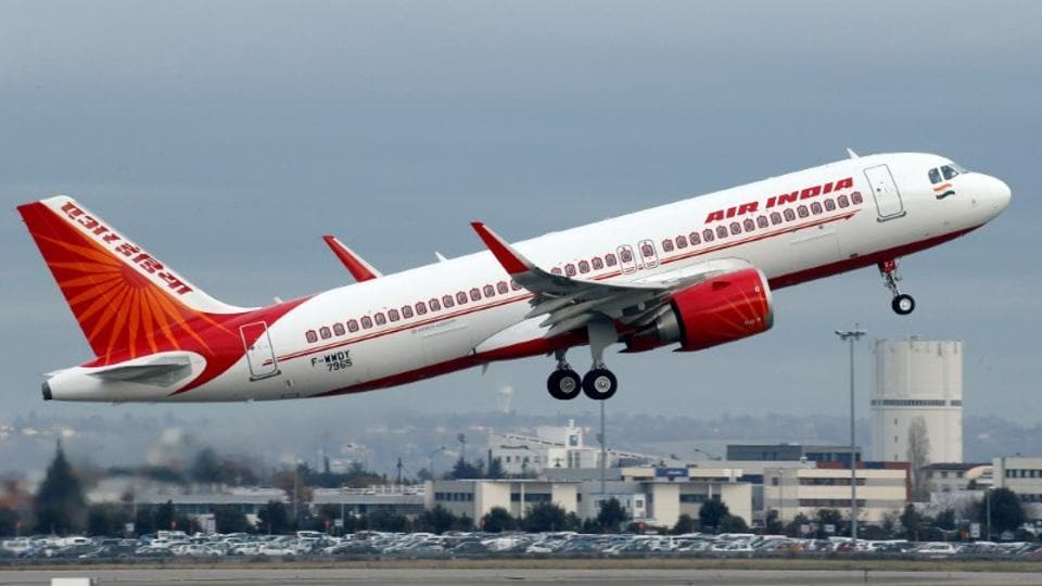 The junior colleague filed a complaint with Air India's inflight service department over the incident, a source told PTI.