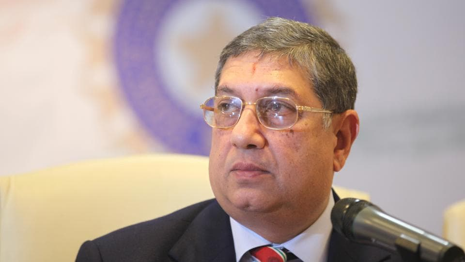 N Srinivasan,Board of Control for Cricket in India,Committee of Administrators