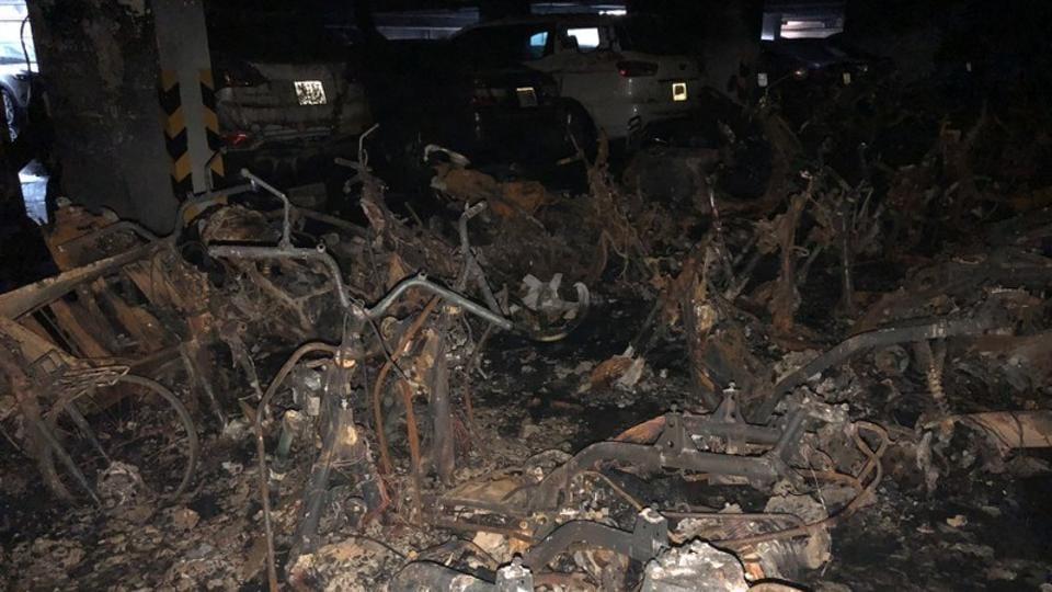 Vietnam,Apartment fire,Highrise