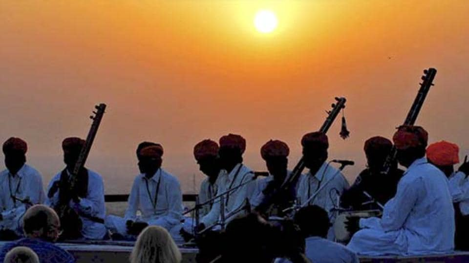 The BJP government in Madhya Pradesh earmarked Rs 57 crore in the state's budget to provide musical instruments to rural musicians.