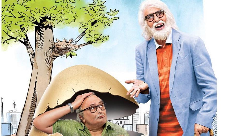 Rishi Kapoor plays Amitabh Bachchan's son in Umesh Shukla's 102 Not Out.