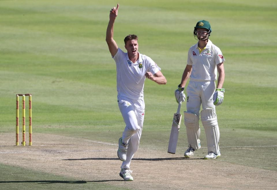 Morne Morkel, who has announced his retirement from international cricket after the series against Australia, reached 300 wickets in the Newlands Test.