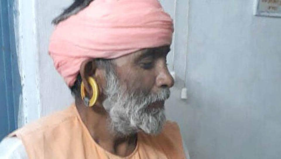 The accused Vikram, in Sirohi.