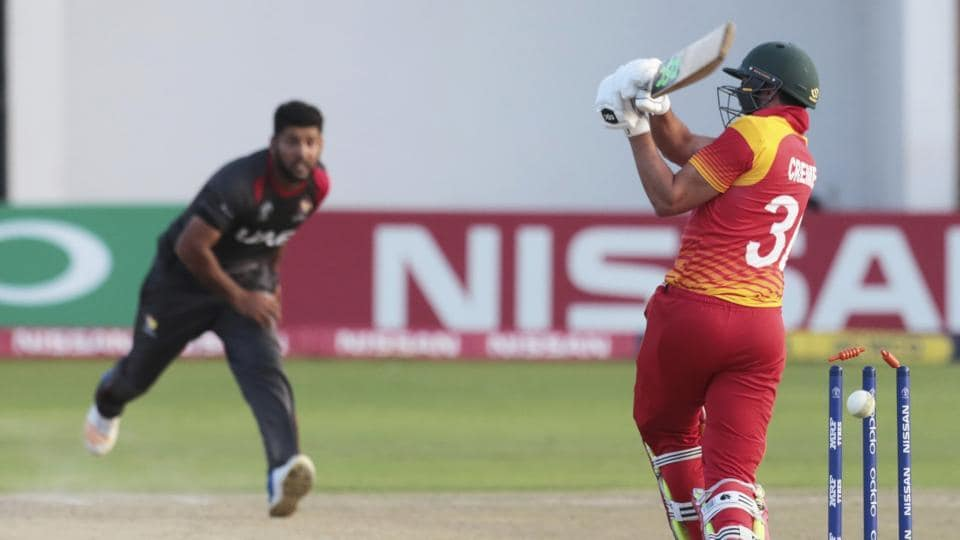 Zimbabwe's three-run loss to United Arab Emirates has virtually knocked them out of the reckoning for a spot in the ICC Cricket World Cup 2019 edition which will be held in England.