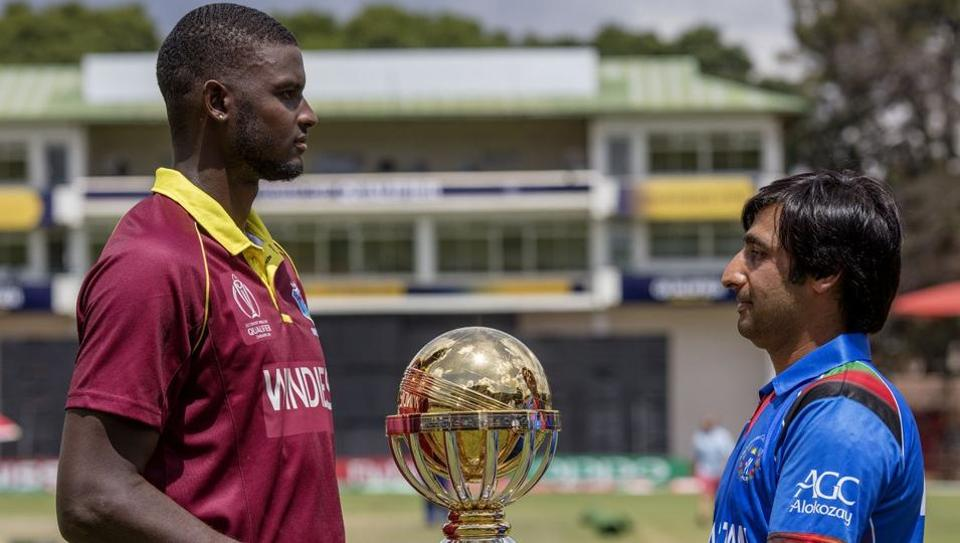 West Indies will face Afghanistan in the final of the ICC World Cup Qualifier in Harare on Sunday.