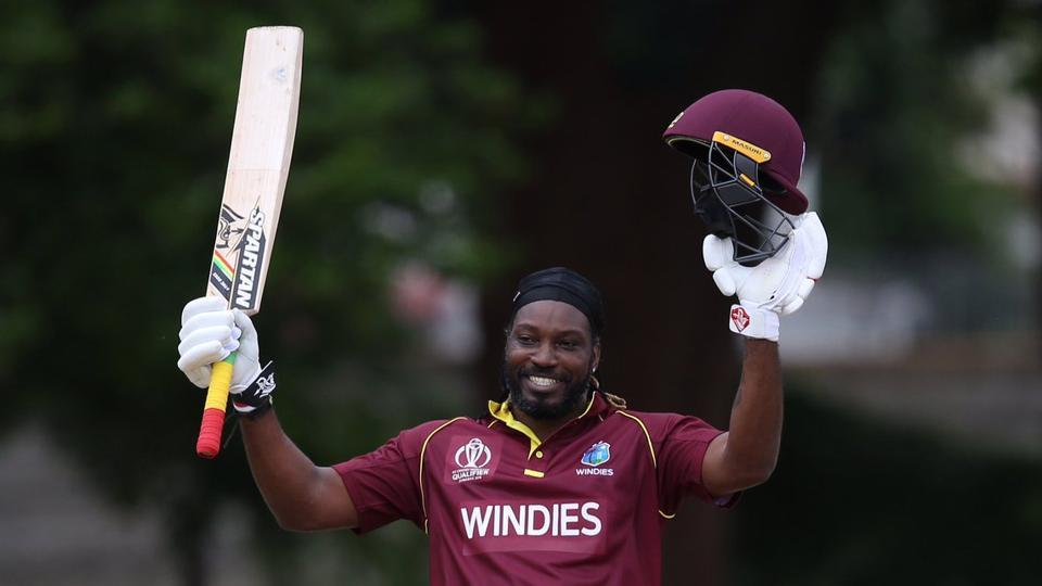 ICC World Cup Qualifier,Chris Gayle,2019 Cricket World Cup