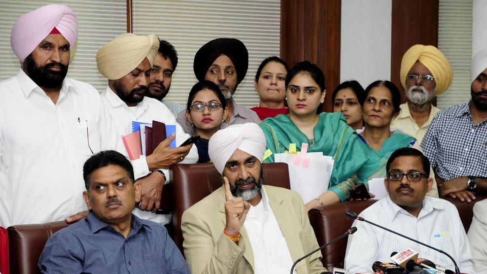 Capt Amarinder Singh,Shiromani Akali Dal,Bharatiya Janata Party