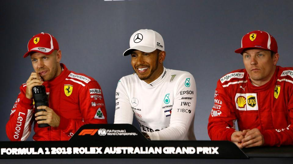 Lewis Hamilton,Australian GP,Kimi Raikkonen