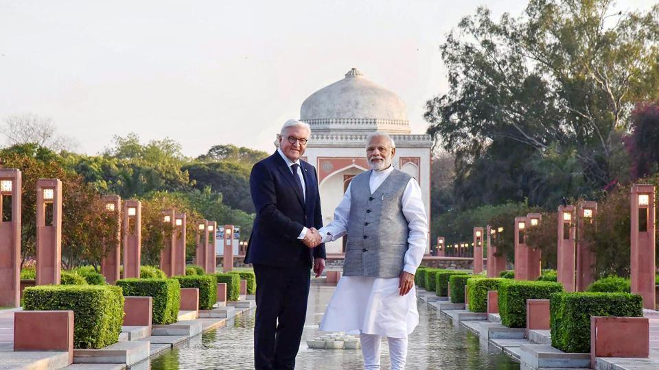 German President Steinmeier accorded ceremonial welcome in Delhi
