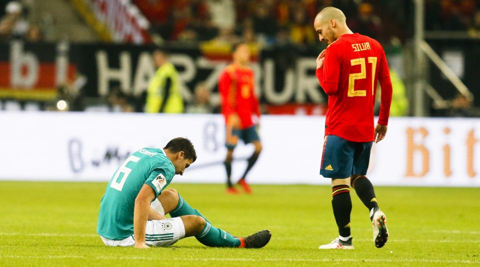 Spain will be without David Silva for their friendly against Argentina after the Manchester City star left the squad due to personal reasons.