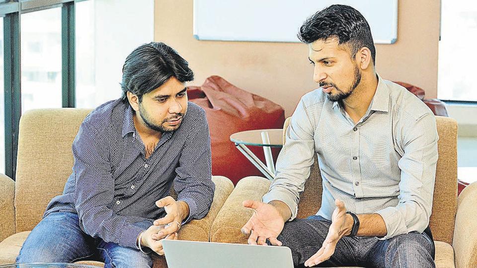 (From left) Vijay Chhuttani and Ritesh Kothari.