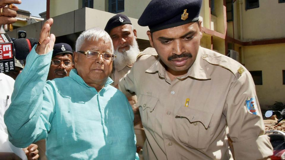Lalu Prasad gets 14-year jail term, slapped with Rs 60 lakh fine in 4th fodder scam case