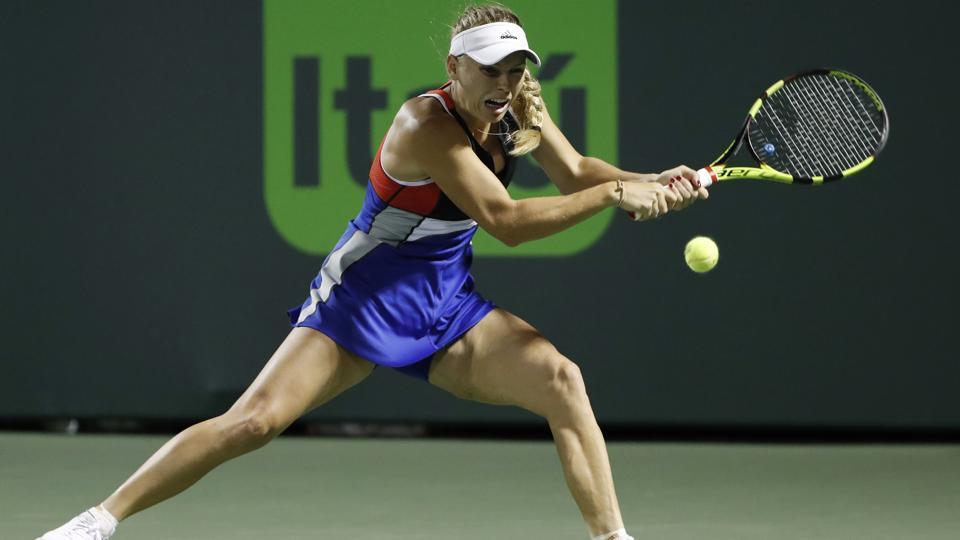 Tennis star Caroline Wozniacki blasts Miami Open after fans 'threaten' her family