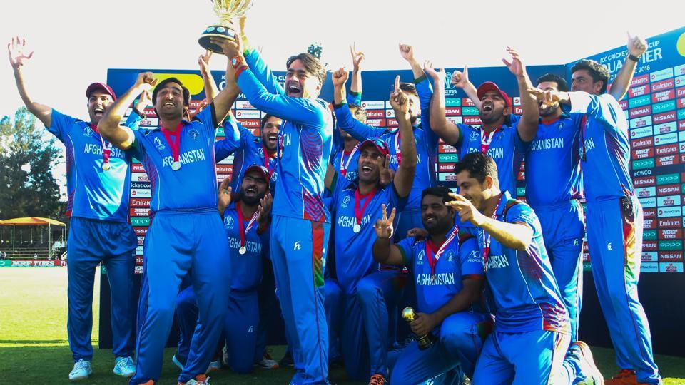 Afghanistan secured a seven-wicket victory over West Indies to clinch the ICCWorld Cup qualifying title in a remarkable way after entering the super-six stage without any points.  (ICC)