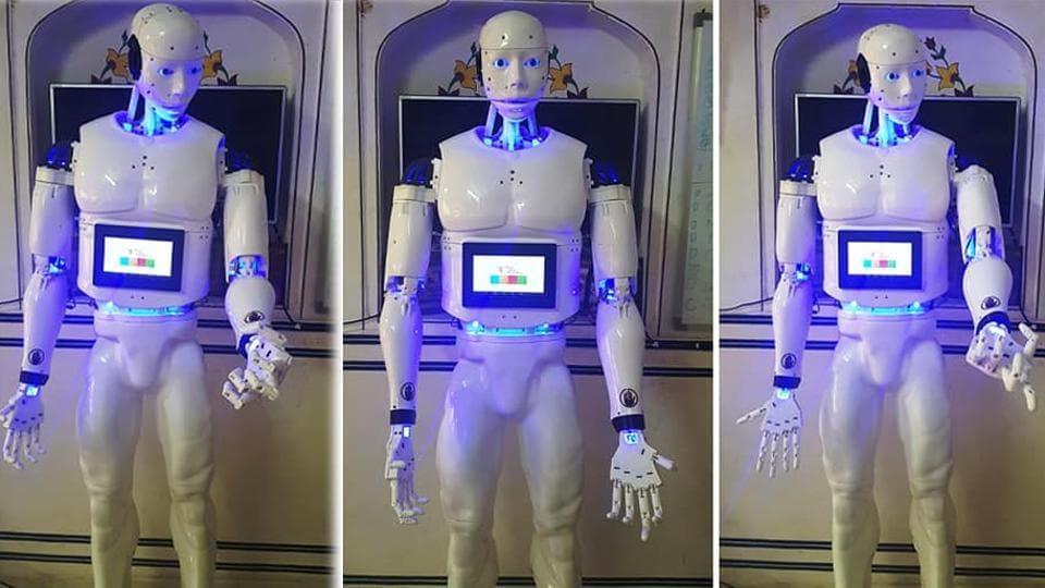 Robot,Jaipur,Wax museum