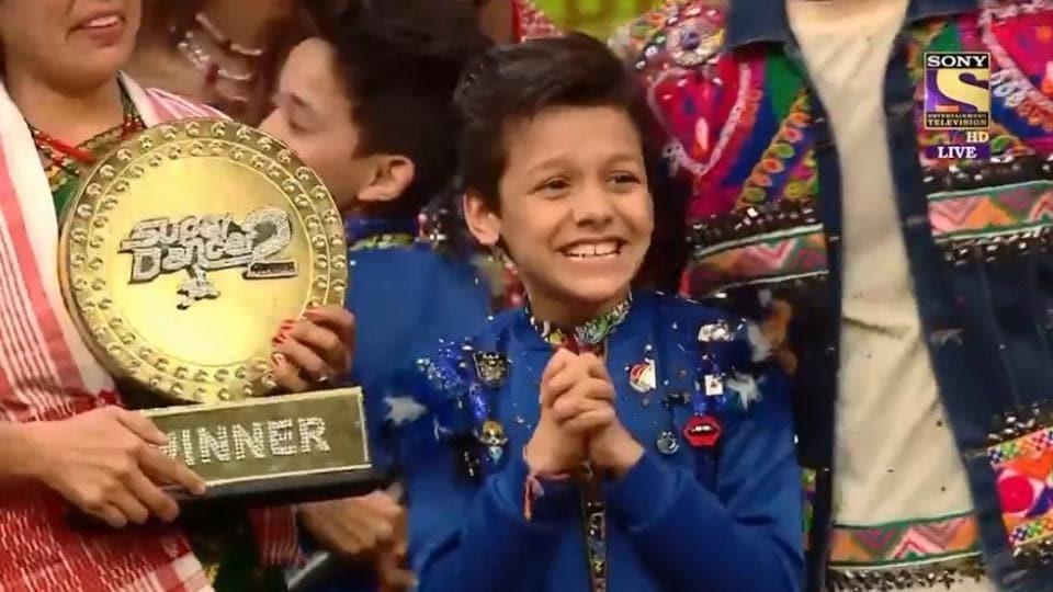 Super Dancer Chapter 2: Assam's Bishal Sharma wins title