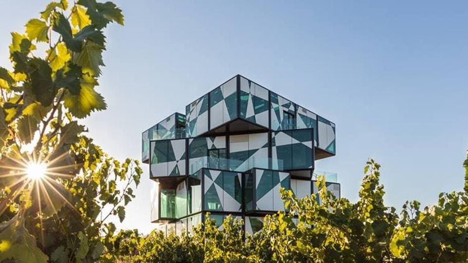 d'Arenberg is one of the oldest family-owned vineyards in Australia; it unveiled the Cube.