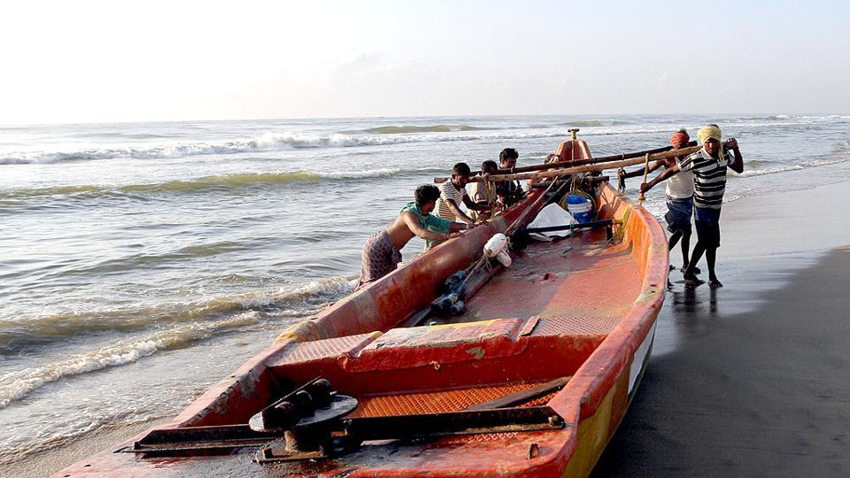 The fishermen from this island town had ventured into the sea in 565 boats on Saturday and were fishing off Katchatheevu when the Sri Lankan naval personnel came to the spot and snapped the fishing nets of 30 boats before driving them away.